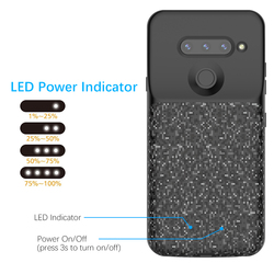 For LG V40 ThinQ Battery Charger Case 5200mAh External Backup Power Bank Protective Cover For LG V40 ThinQ Bateria Fundas