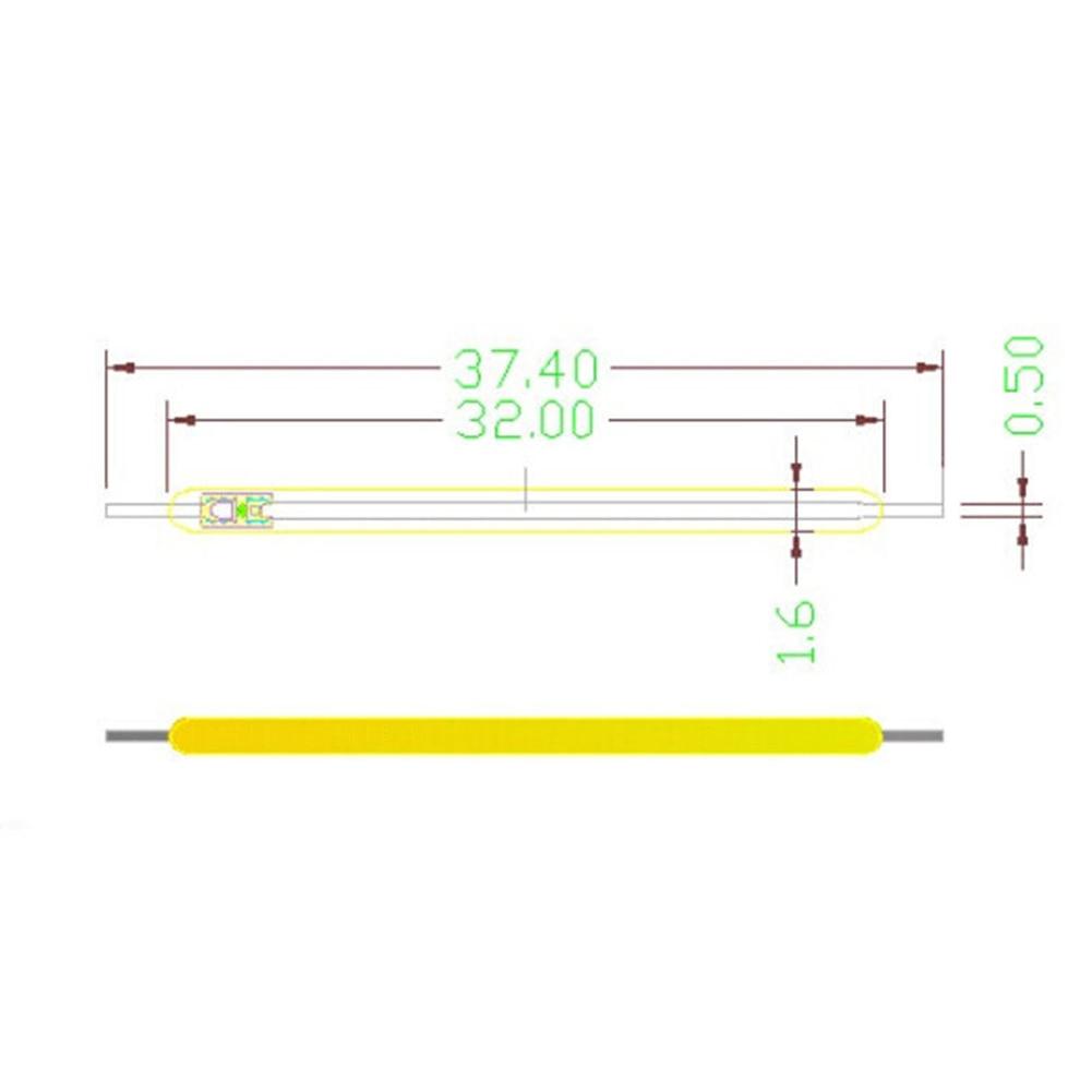 5 шт./компл. 130LM COB светодиодный ламп накаливания DC2.9-3.1V Свеча светильник источник аксессуары светильник ing DIY fixment светильник ening аксессуары