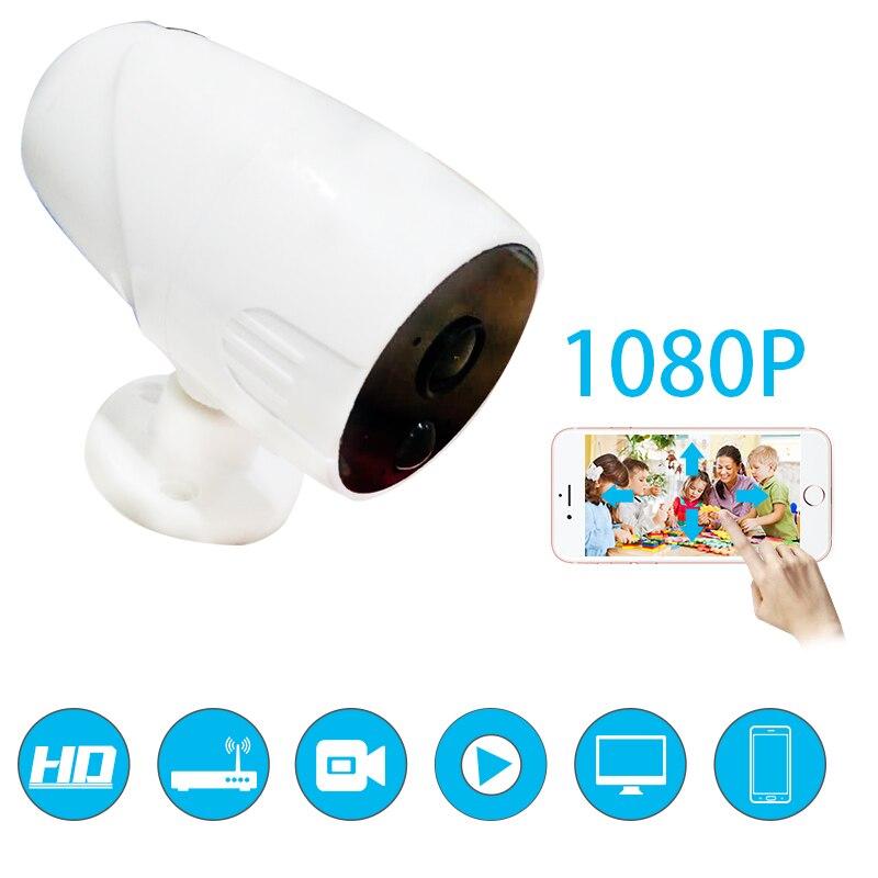 2018 Saful 1080 P 2MP HD Водонепроницаемая камера с Wi-Fi батарея PIR обнаружить наблюдения IP камера широкий вид видеоняни и радионяни Крытый