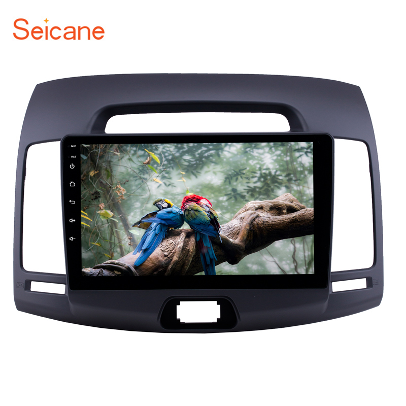 Seicane 2.5D IPS screen 9Android 8.1 GPS car Radio for 2007-2011 Hyundai Elantra with Bluetooth USB WIFI Music support CarplaySeicane 2.5D IPS screen 9Android 8.1 GPS car Radio for 2007-2011 Hyundai Elantra with Bluetooth USB WIFI Music support Carplay