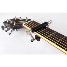 Guitar Capo Electric Acoustic Wooden Guitar Bass Ukulele Capos Glider Guitarra Capo Slide Quick Setup Rolling Guitar Accessories цена