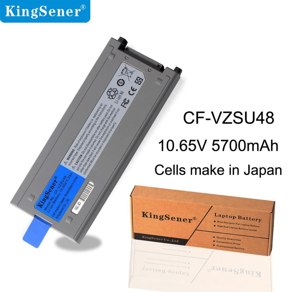 KingSener Japanese Cell New CF VZSU48 Battery for Panasonic CF VZSU48 CF VZSU48U CF VZSU28 CF VZSU50 CF 19 CF19 Toughbook-in Laptop Batteries from Computer & Office