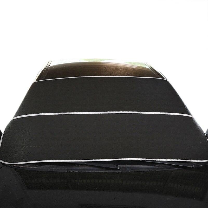 Pare-brise avant de voiture pare-soleil pare-soleil de voiture Auto pare-soleil de neige imperméable Protection de couverture nouveaux accessoires extérieurs d'automobiles