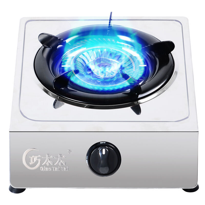 Domestic Built-In Gas Stove Embedded Single-stove Ranger Liquefied Gas Desktop Stove Catering Equipment Freestanding Gas Cooktop
