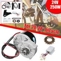 24V 250W Electric Scooter Motor Conversion Kit DIY Brushed Motor Wheel Controller Set For 20 28 Electric Bike Skatebord Bicycle