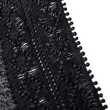 Plus Size Sexy Plunging Neck Cold Shoulder Lace T-Shirt