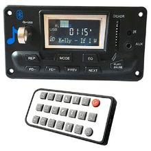 A cristalli liquidi di trasporto Per Auto Bluetooth 4.2 Mp3 Lettore Flac ape Modulo scheda di Decodifica W. usb Fm Aux Radio Testi Spettro di Visualizzazione Cartella Pw Memoria Ki