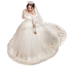 Vintage Wedding Dress 2018 Princess Ball Gown Bridal Gowns