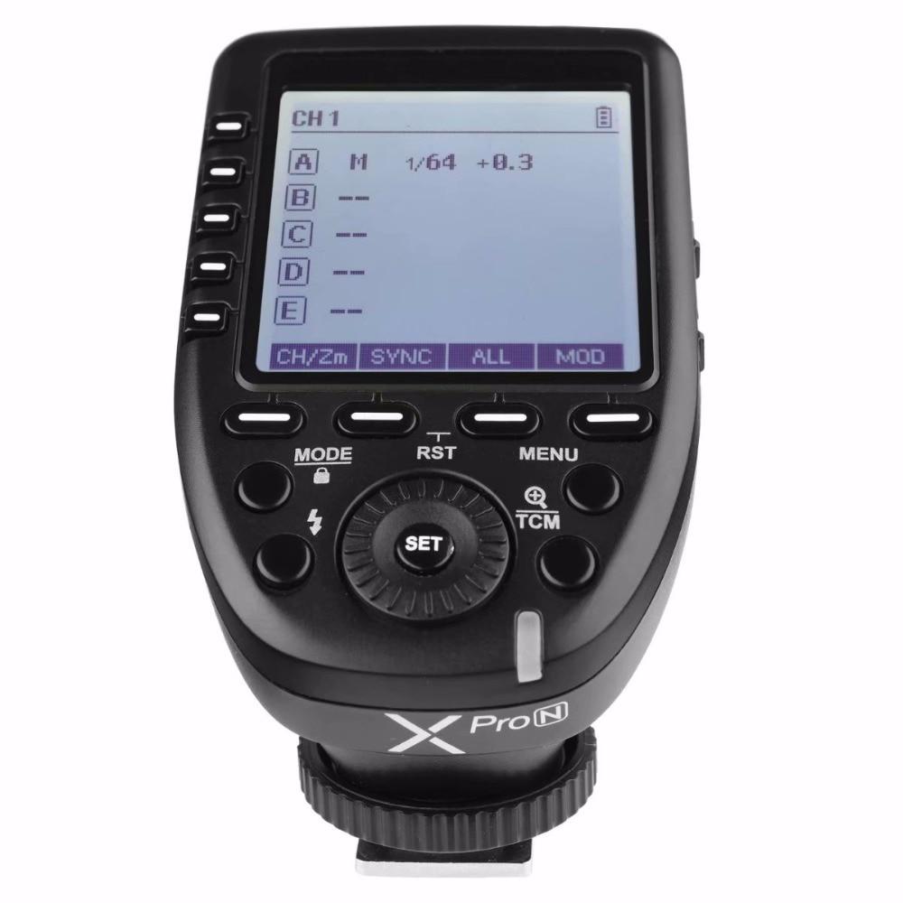 Godox Ving V860II V860II N Speedlite flash 2 4G GN60 TTL Xpro N Wireless Trigger Flash for nikon Camera D800 d700 D7100 D700 in Flashes from Consumer Electronics