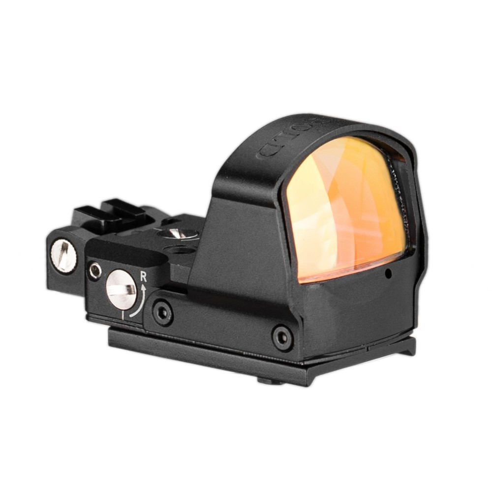 Image 4 - Tactical DP Pro Style Red Dot Reflex Sight Scope With Picatinny Mounts For Pistol Airsoft 1911 1913-in Riflescopes from Sports & Entertainment