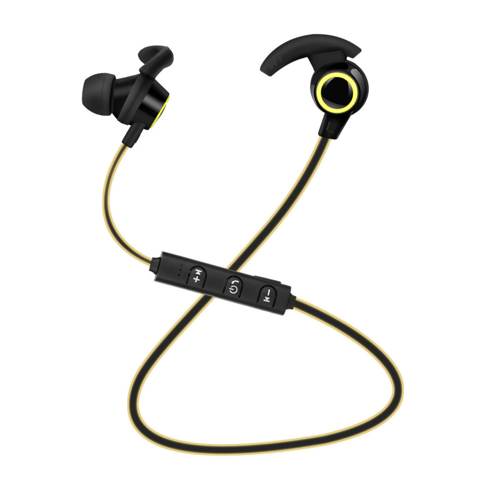 Image 4 - Bluetooth Earphone In Ear Wireless Head phones With 5 Hours Battery Life Sport Wireless Earphone Bluetooth 4.1 For Mobile Phone-in Bluetooth Earphones & Headphones from Consumer Electronics