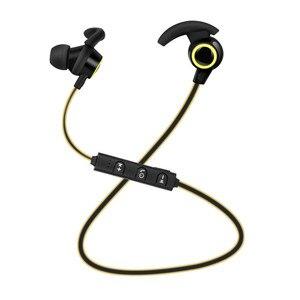 Image 4 - 블루투스 이어폰 in ear 무선 헤드 폰 5 시간 배터리 수명 스포츠 무선 이어폰 블루투스 4.1 휴대 전화
