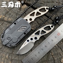 Sanrenmu 4101 Pocket Knife 12c27 Steel Outdoors Portable Mini Pocket Camping Edc Rescue Survival Tool Stiletto Utility Knife