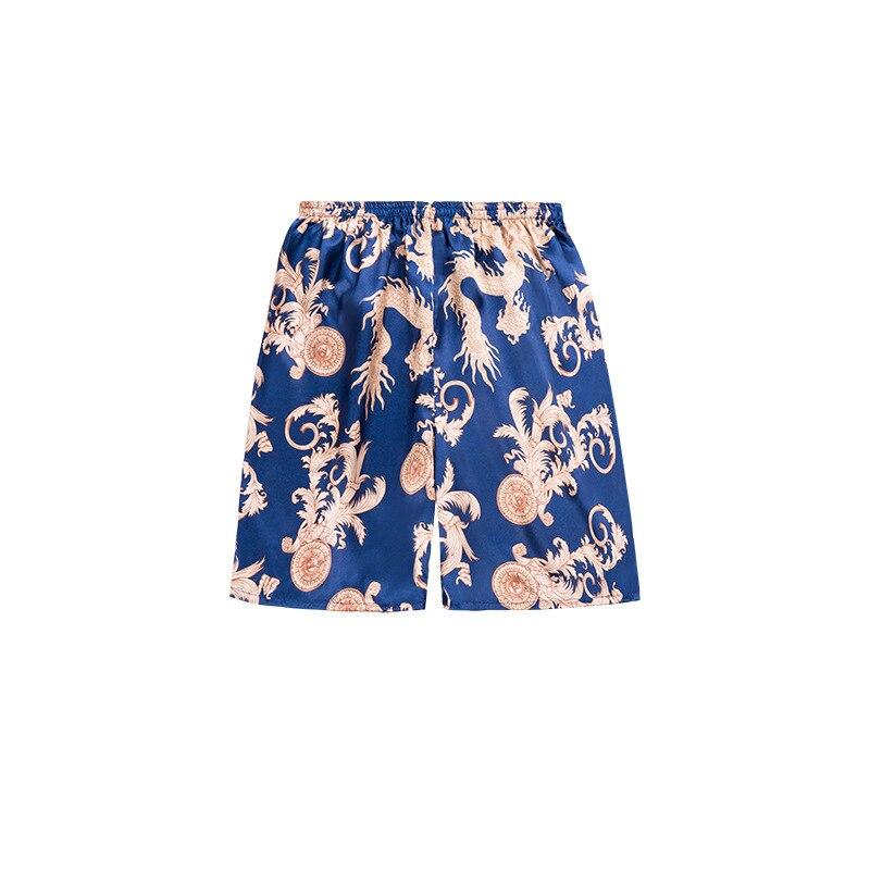 Men's pajamas underwear men spinning silk pajamas sleep lounge bottoms Sleepwear 2019 The new listing