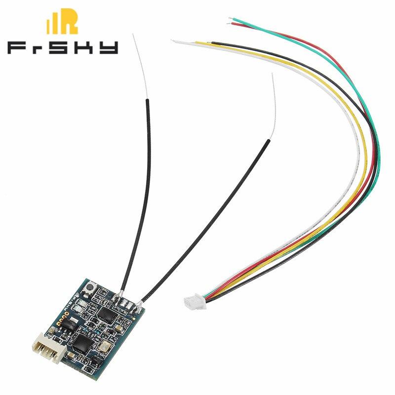 FrSky XSR 2,4 GHz 16CH ACCST Empfänger Bord S-Bus CPPM Ausgang Unterstützung X9D X9E X9DP X12S X Serie für RC Modelle Drone Teile Accs