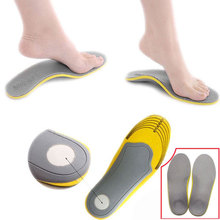 Men Women Orthopedic Insoles 3D Flatfoot Flat Foot Orthotic Arch Suppor