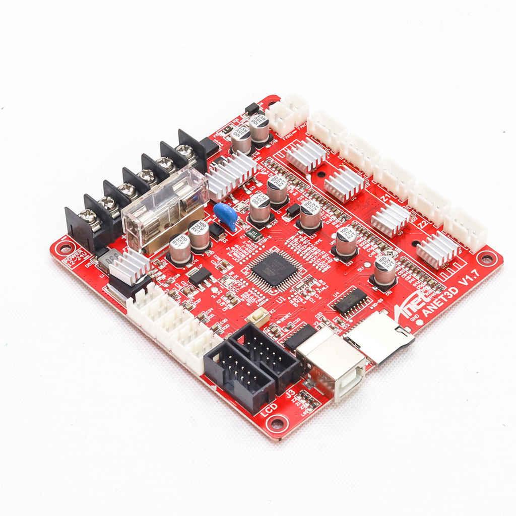 V1.7 Placa de Control placa base para Anet A8 Diy auto ensamblaje 3D Kit de impresora de escritorio