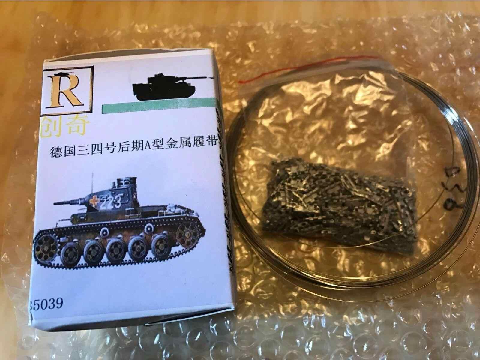 R-Model 1//35 35081 Metal Track For German STYER RSO//3
