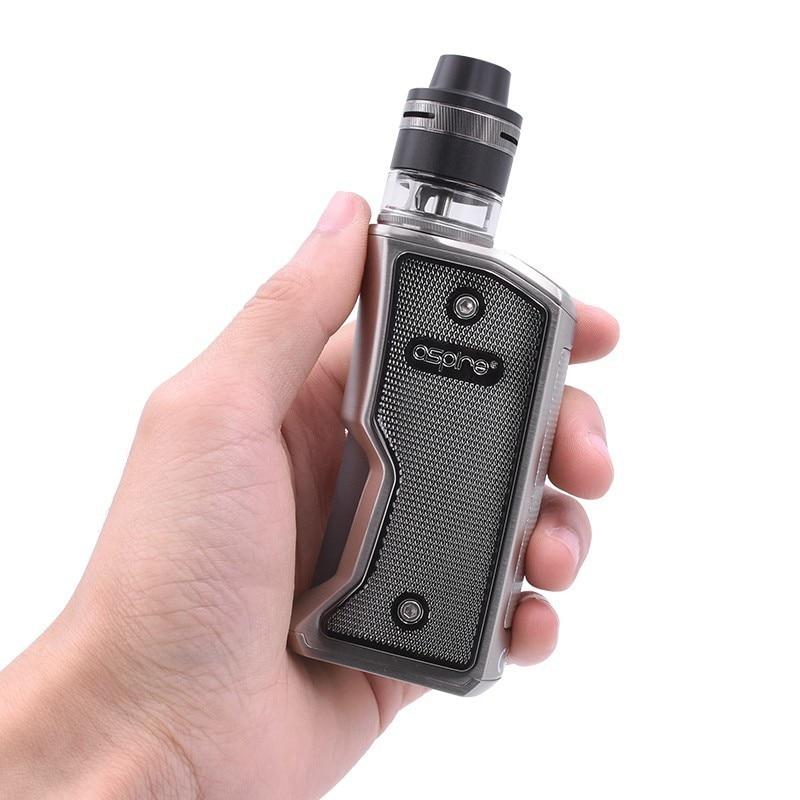 Cigarette électronique Squonk Aspire Feedlink Vape Kit avec 7ML Silicone bouteille 510 Mod et 2ML Revvo Boost réservoir utiliser 18650 batterie - 5