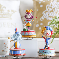2018 Merry Christmas Mechanism Free Shipping M Son Home Circus Adornment Furnishing Articles Shook His Head The Clown Gift Girl