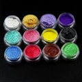 12 Colors Soap Dye Shimmer Mica Powder Pigments for DIY Bath Bomb Soap Making Cosmetic Making Eye shadow Resin Crafts