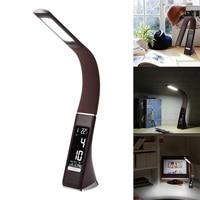 Energy Saving Modern LED Desk Lamp Dimmer Eye Care Swing Long Arm Business Office Study Desktop Light For Table Luminaire