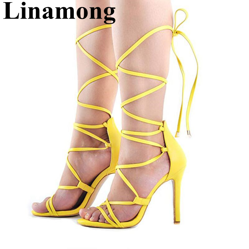 2019 Summer Newest Cross-tied Four Colors Sexy Thin Hihg Heel And Open Toe Cover Heel Fashion Sample Women Sandals2019 Summer Newest Cross-tied Four Colors Sexy Thin Hihg Heel And Open Toe Cover Heel Fashion Sample Women Sandals