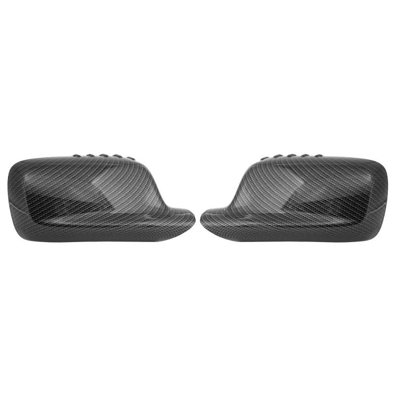 1 Pair Side Rearview Car Mirror Cover Carbon Pattern Wing Mirror Cover Cap Shell Housing For BMW 7 Series E66 BMW 3 Series E461 Pair Side Rearview Car Mirror Cover Carbon Pattern Wing Mirror Cover Cap Shell Housing For BMW 7 Series E66 BMW 3 Series E46
