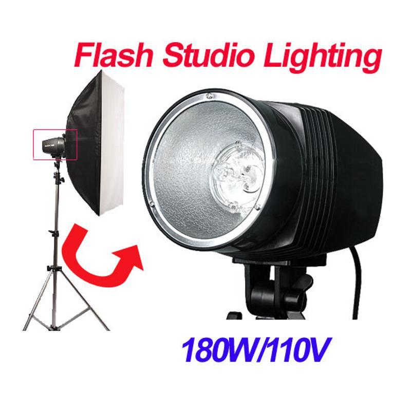 Monolight Flash stroboscopique Studio Photo photographie éclairage lampe 180 W 110 V lumière Flash à puissance Variable