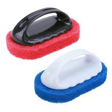 1 шт. Удобная кухонная Чистящая Щетка, волшебная губка, ластик, плитка для ванной, щетки для мытья посуды, горшок, щетка для чистки, губка, аксессуары для ванной комнаты