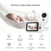 VB603 Baby Sleeping Monitor Baby Camera Monitor With Wireless NightVison Camera Video Baby Monitor Radio Temperature detection