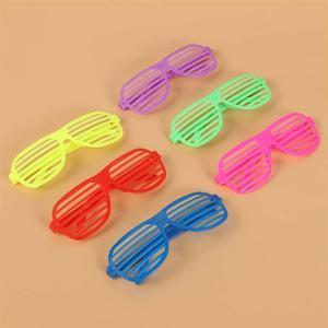Image 5 - 50 個シャッターシェードメガネ無地眼鏡シャッターサングラスパーティーの小道具ギフトクリスマス誕生日ハロウィン