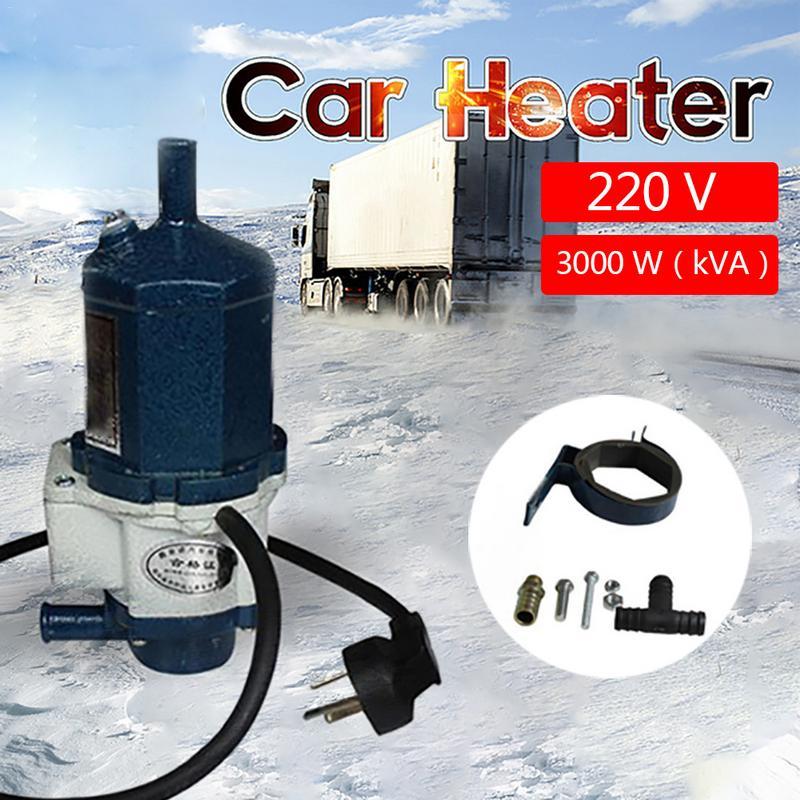 3000 В в автомобильный подогреватель двигателя 220 Вт циркуляционный водонагреватель моторный цикл подогреватель охлаждающей жидкости отопл...