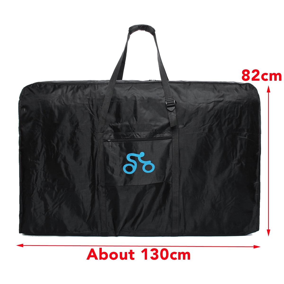 1680D 26-29 pulgadas de Nylon portátil de la bicicleta bolsa de bicicleta de ciclismo transporte viaje caso bicicleta accesorios - 2