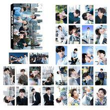 Kpop 5th Aniversario de papel Lomo tarjetas Jimin V Suga colectiva Photocard cartel papel hecho a sí mismo foto tarjeta unids/set