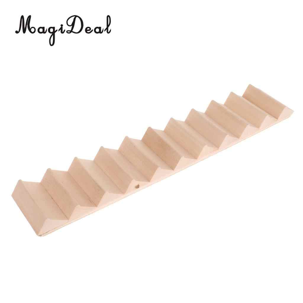 1 12 Scale Dollhouse Miniature Wooden Stair Staircase House Diy Building Toy Furniture Decor Accessory Aliexpress