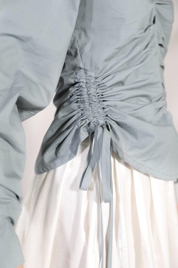 Haze Câble New De Unique Pour 2019 Femelle Auto Blue Tracteur Femme Chemise Conception Robe E240 Mode Produit Summer Vêtement culture mOyvN8n0wP