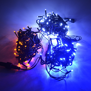 32.8ft PVC black LED string li