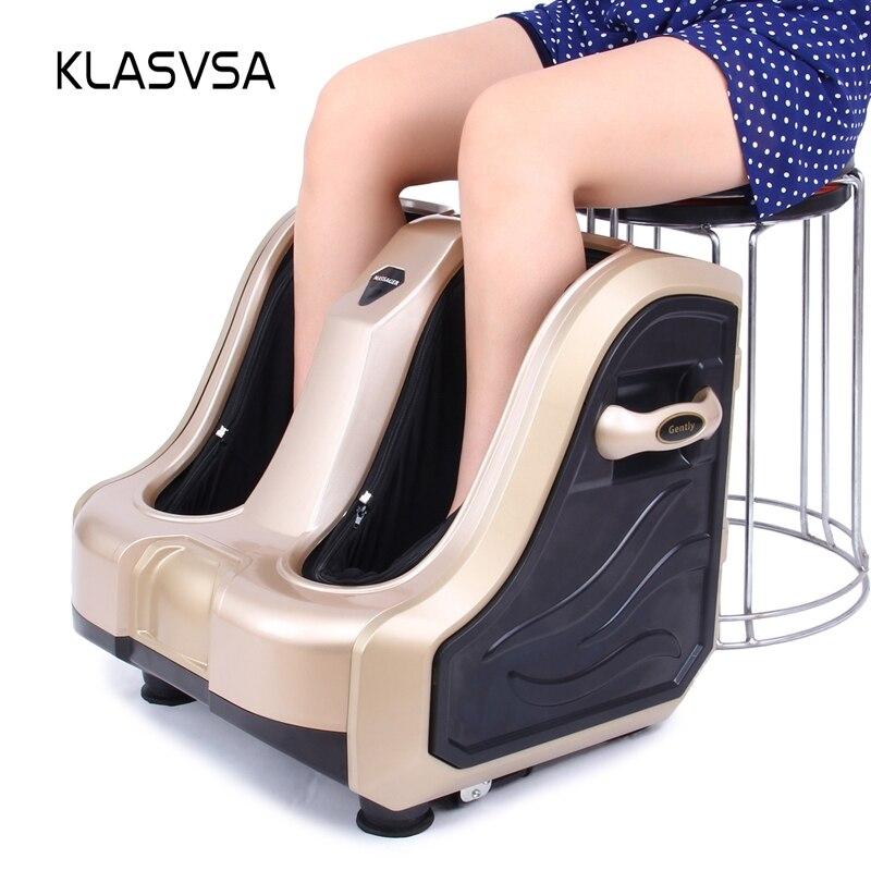KLASVSA Aquecimento Eléctrico Pé Quente Perna Massageador Shiatsu Vibrador Rolo Reflexologia Terapia Alívio Da Dor Saúde Relaxamento