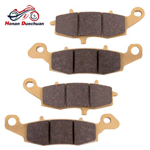 2pair Front Rear Motorcycle Brake Pads Disc For Kawasaki VN 1500 J1/J2/R1/R2/R3/N1/N2/N3 VN 800 VN 900 цены