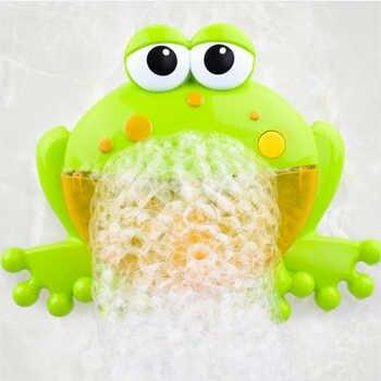 Baby Bath Bubble Machine  Bathroom Accessories Sets Big Frogs Automatic Bubble Maker Blower Music Maker Bathtub Soap Machine - DISCOUNT ITEM  35% OFF All Category