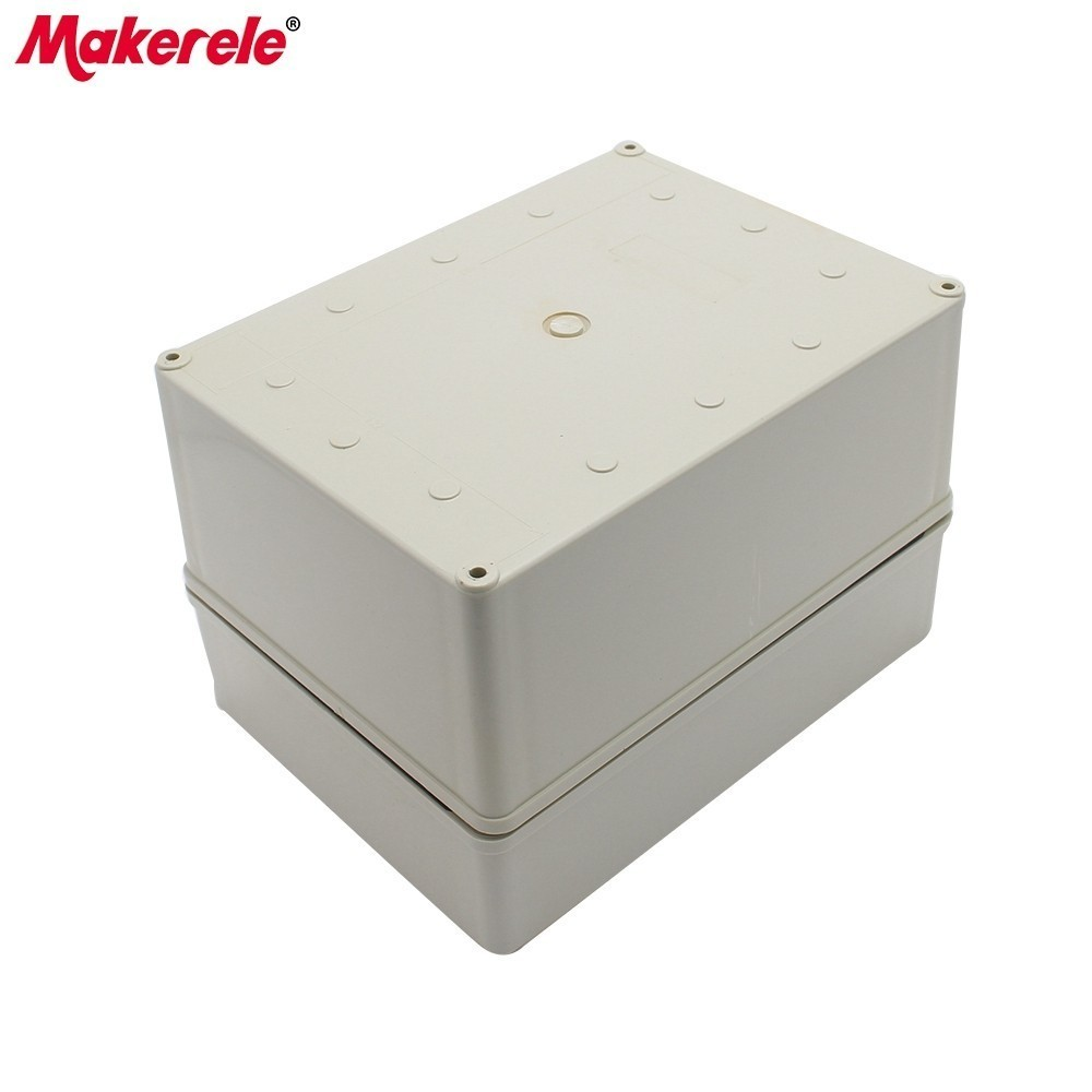 Waterproof Electrical Box ABS Material Housing DIY Junction Box 150*200*130MM Plastic Weatherproof Electrical Boxes|Connectors| |  -