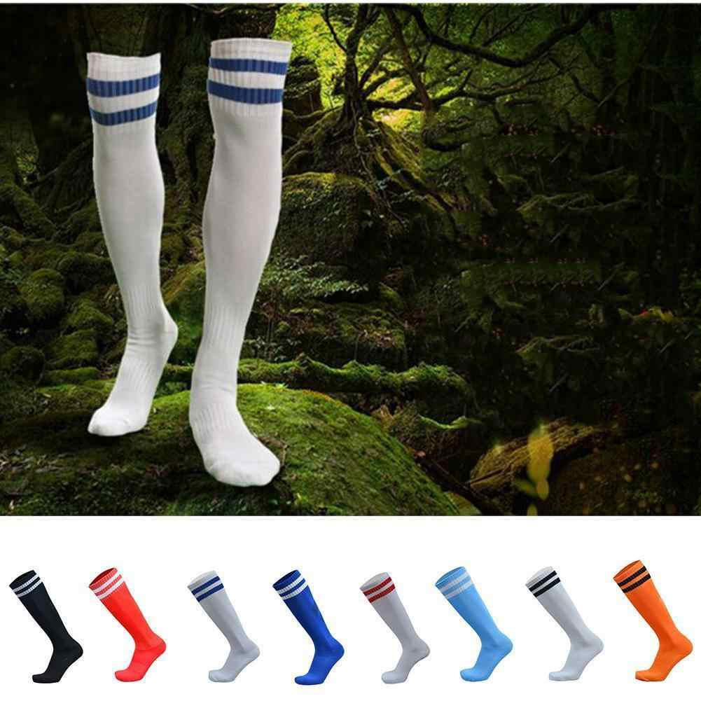 Wholesale Fashion High Sport Baseball Football Stripped Ankle Soccer Socks Over Knee High Quality