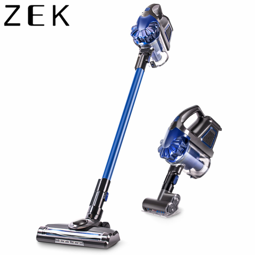 ZEK 2 In 1 Rechargeable Cordless Handheld Vacuum Cleaner 150W 7500Pa Double Motor Two Speed Dust Collector Aspirator LED LightZEK 2 In 1 Rechargeable Cordless Handheld Vacuum Cleaner 150W 7500Pa Double Motor Two Speed Dust Collector Aspirator LED Light