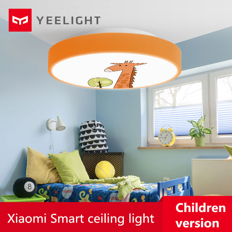 Xiaomi Yeelight Led Ceiling Light Children Version Bluetooth Wifi Control Ip60 Dustproof ceiling light Smart led