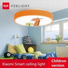 Youpin Yeelight Led lampa sufitowa wersja dla dzieci Bluetooth sterowanie przez Wifi Ip60 pyłoszczelna lampa sufitowa inteligentna dioda led lampy sufitowe