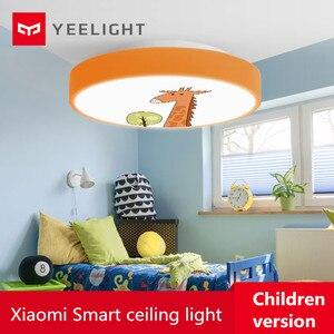 Image 1 - Youpin Yeelight Led lampa sufitowa wersja dla dzieci Bluetooth sterowanie przez Wifi Ip60 pyłoszczelna lampa sufitowa inteligentna dioda led lampy sufitowe