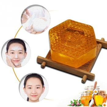 Essential Oil Moisturizing Smell Deep Cleansing Honey Smell Soap Spa Handmade Soap Cleaning Dirt Anti Aging Skin Care #518 3