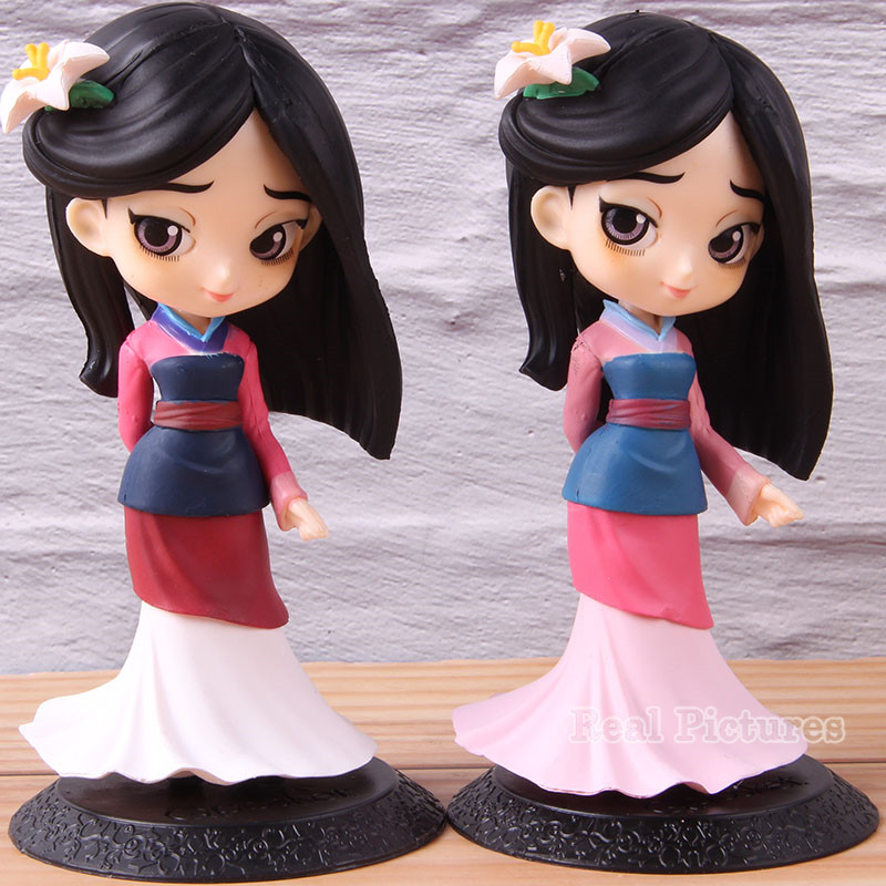 Q Version Mulan QPosket Action Model Toy Q Posket Big Eyes Princess PVC Collectible Characteis Figure 13cmQ Version Mulan QPosket Action Model Toy Q Posket Big Eyes Princess PVC Collectible Characteis Figure 13cm