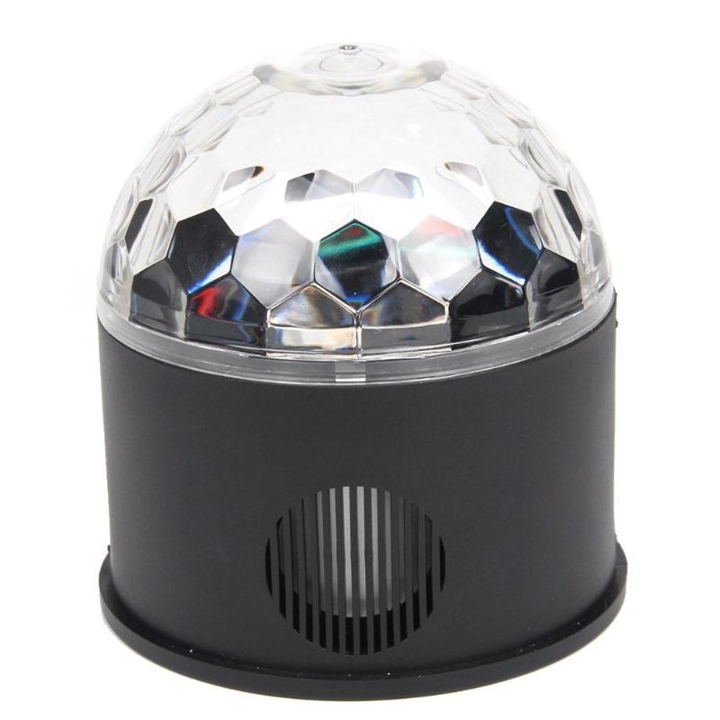 9 Colors LED Stage Light Bluetooth MP3 Magic Ball Disco DJ Projector Lamp9 Colors LED Stage Light Bluetooth MP3 Magic Ball Disco DJ Projector Lamp